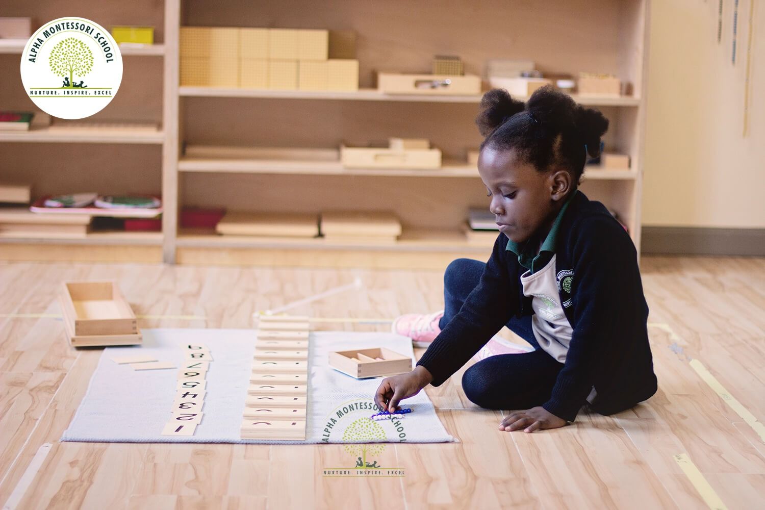 preschool classrooms at Montessori School in Plano | Alpha Montessori