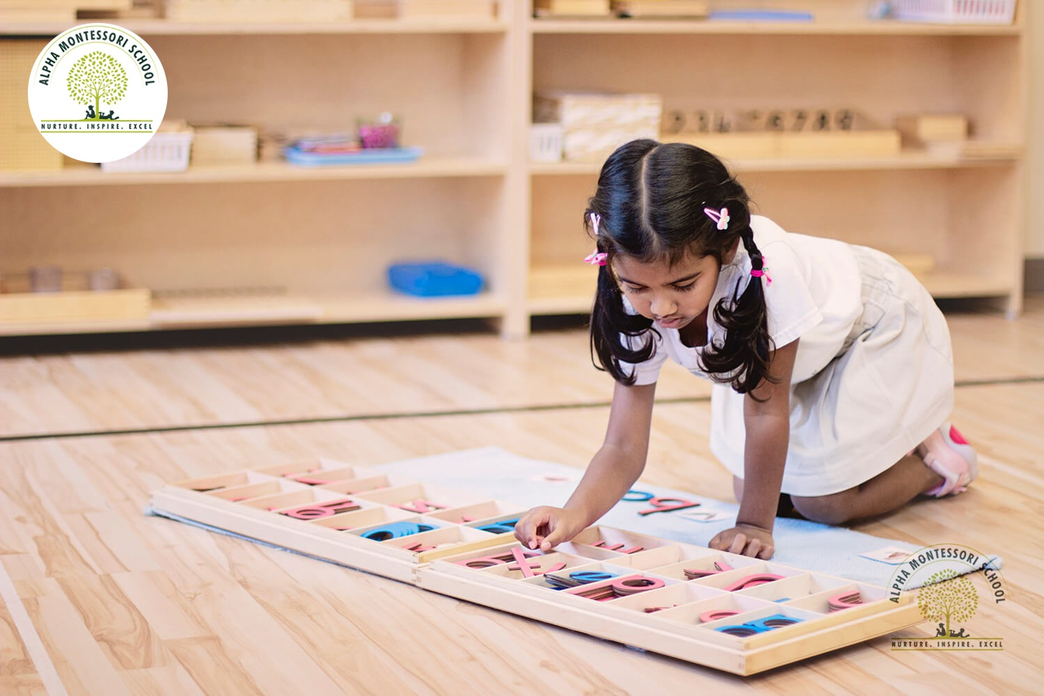 preschool learning in Montessori School Frisco | Alpha Montessori