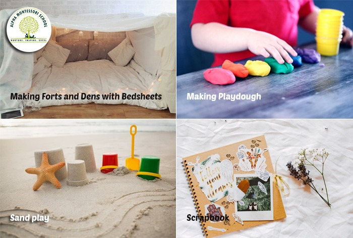 Games, puzzles and projects - Montessori activites at home
