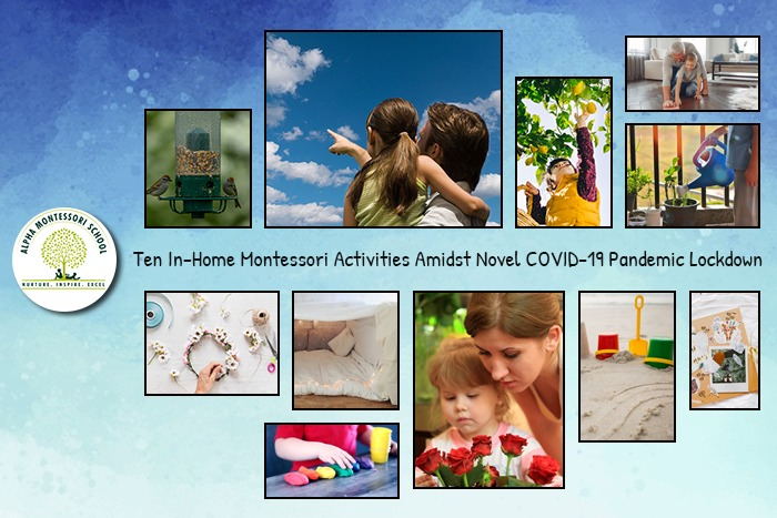 Ten In-Home Montessori Activities Amidst Novel COVID-19 Pandemic Lockdown