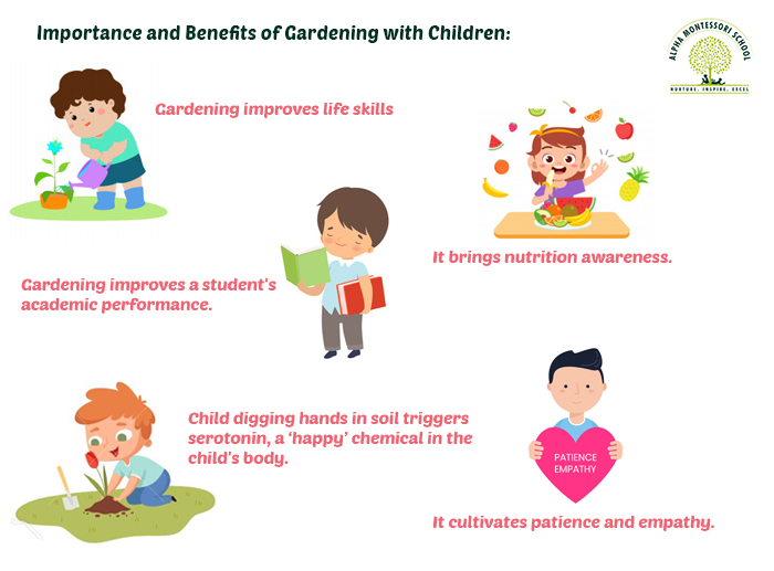 Benefits of Gardening with Children - Alpha Montessori