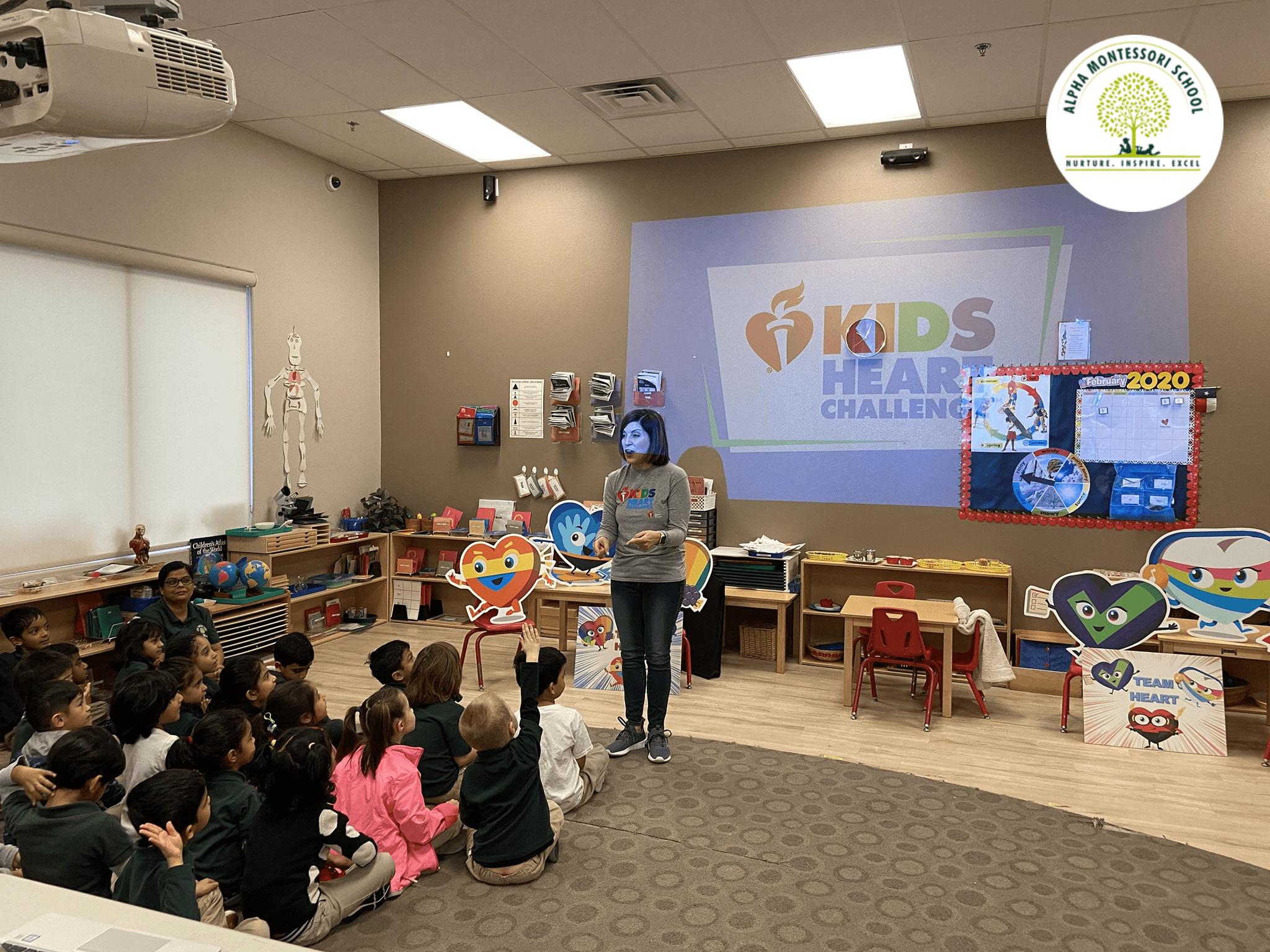 Kids Heart Challenge - Alpha Montessori School, Plano & Frisco