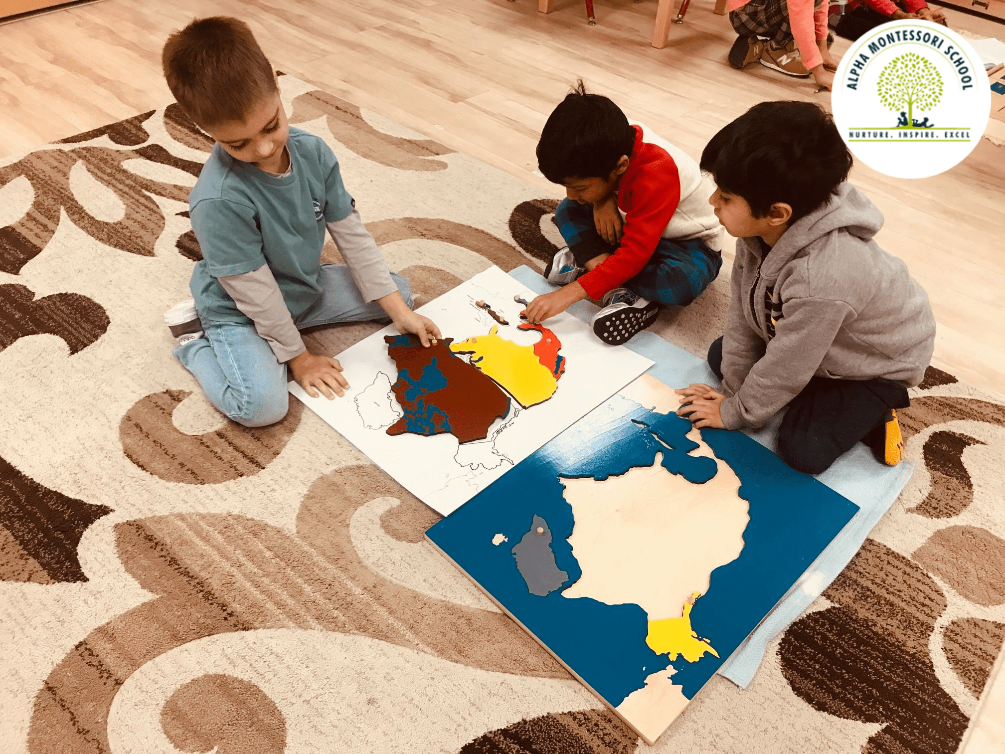 Montessori Activities - Alpha Montessori School