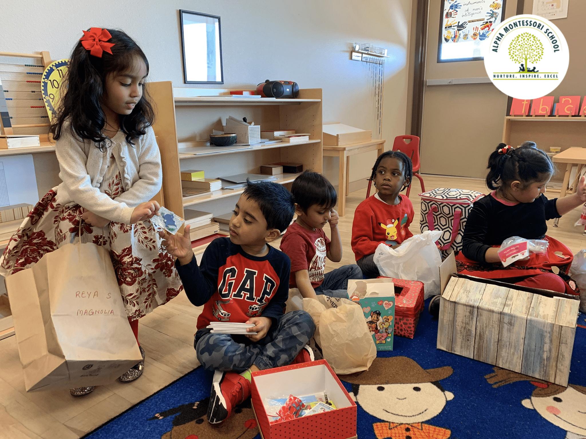 Montessori Valentines Day Celebration