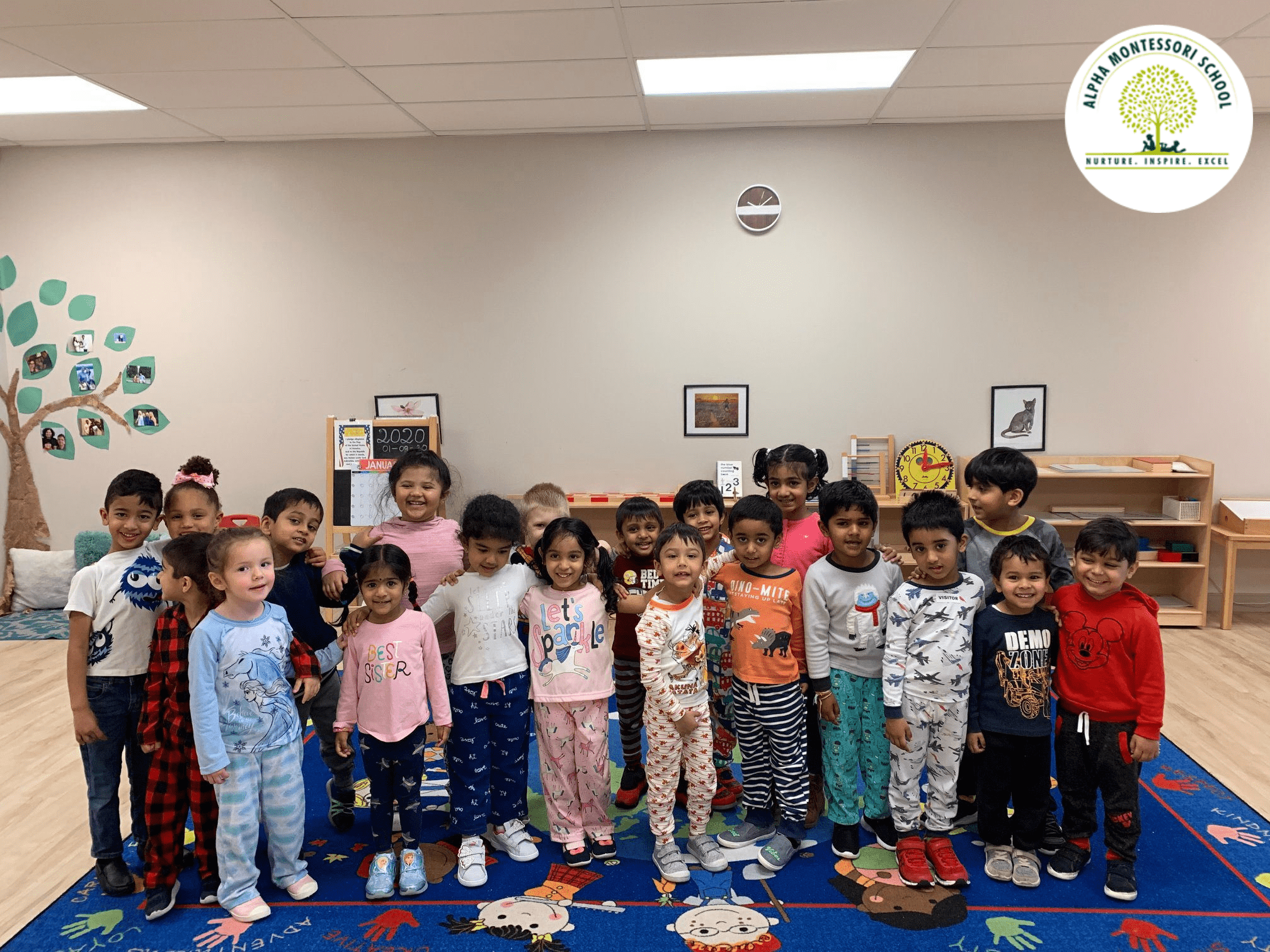Pajama Day Celebration