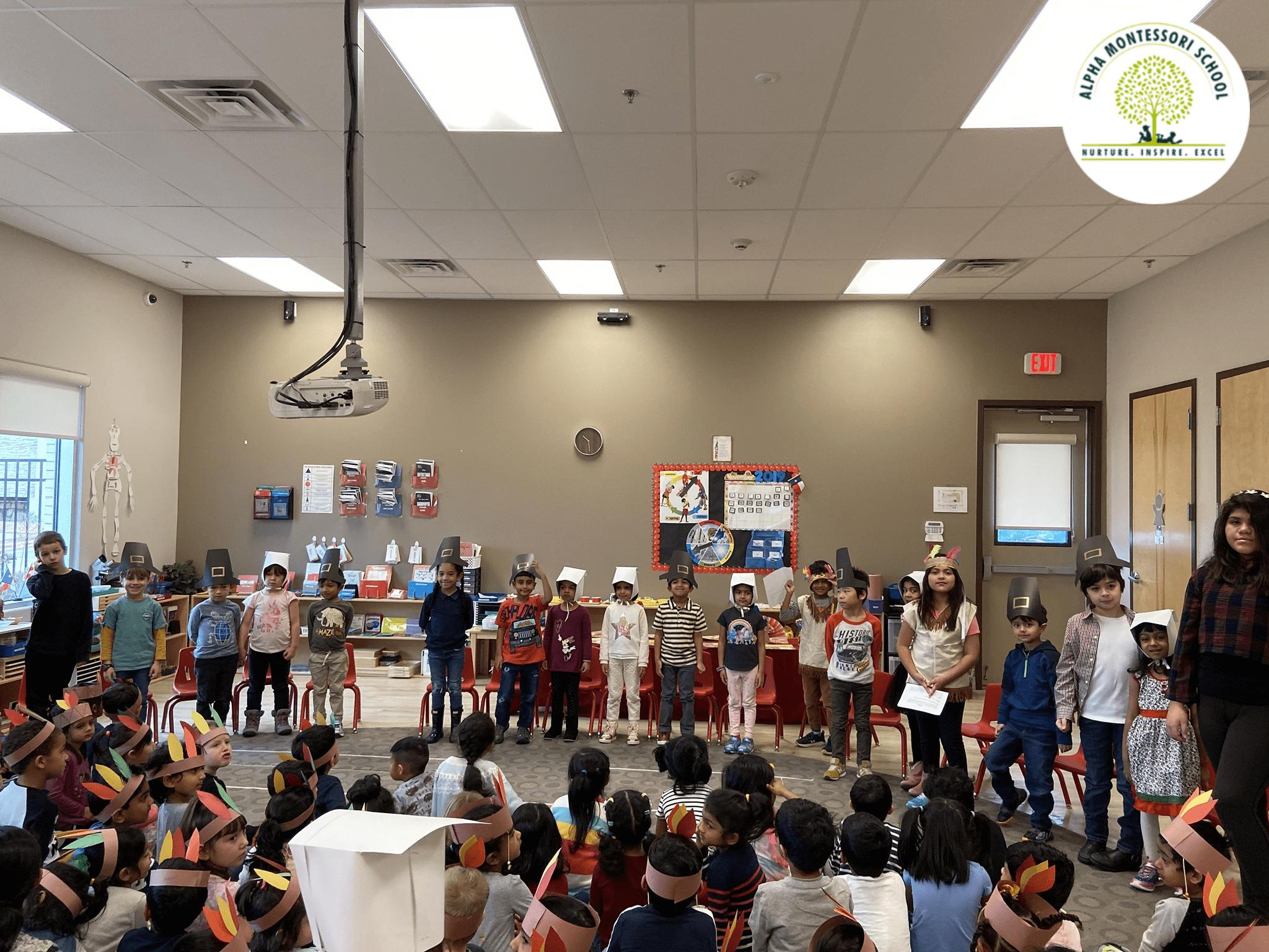 Thanksgiving Alpha Montessori School, Plano & Frisco