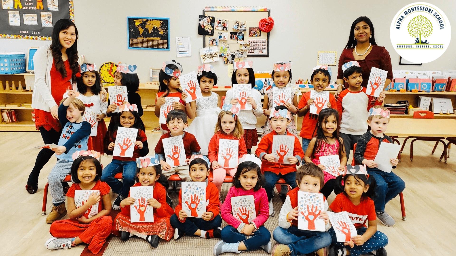 Valentines day - Alpha Montessori School