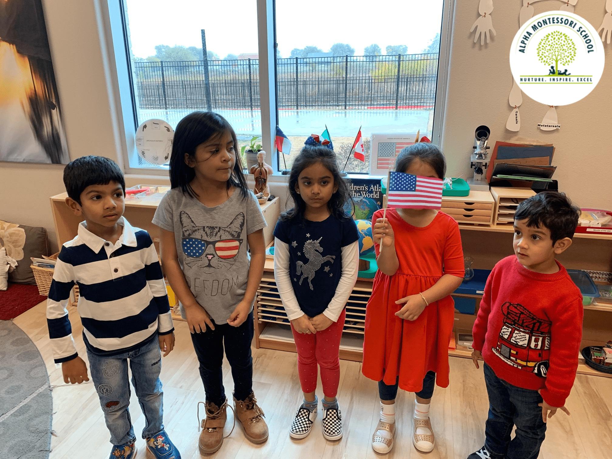 Veterans Day at Alpha Montessori
