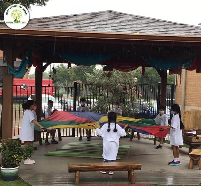 Activity zones - Montessori school frisco - Alpha Montessori