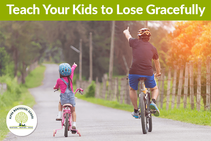 Teach Your Kids to Lose Gracefully