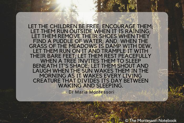 Maria-Montessori-Children-Nature